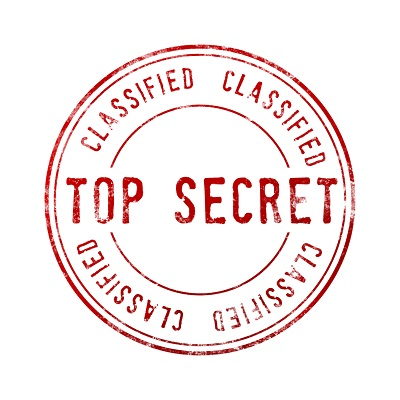 image of top secret stamp