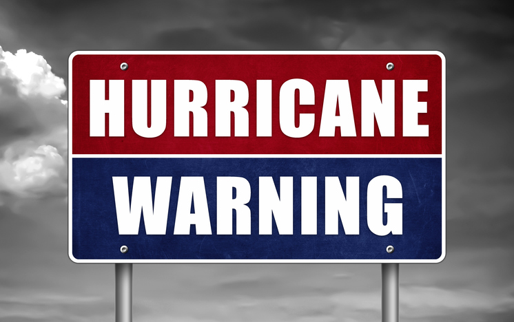 hurricane warning image